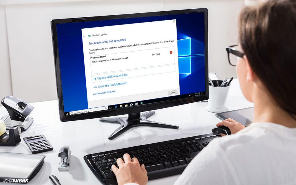 How To Fix Service Registration Missing Or Corrupt In Windows 10