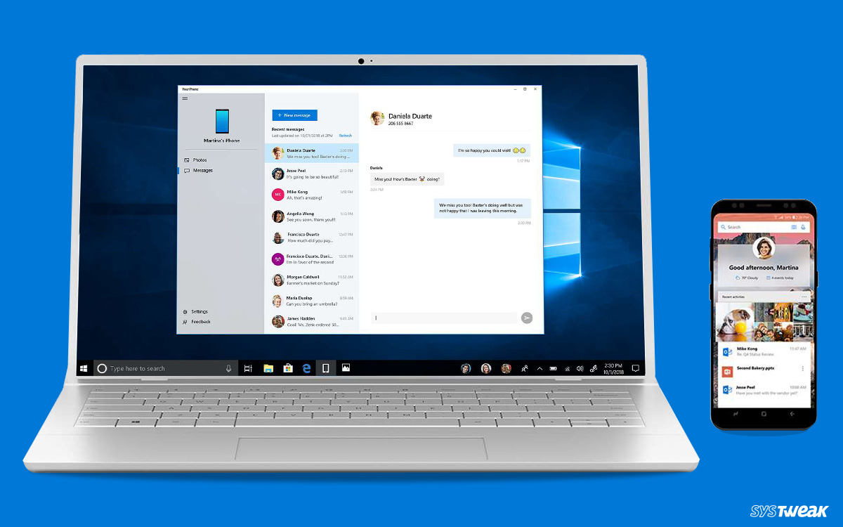 How to Use Your Phone App In Windows 10?