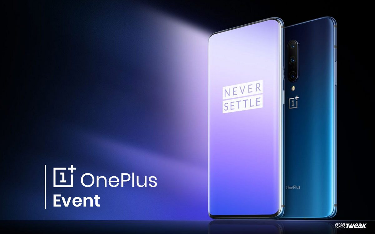 one plus pro 7 event