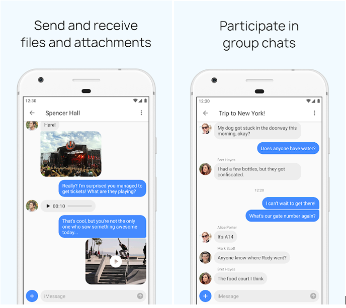 How To Send And Receive iMessage On Android