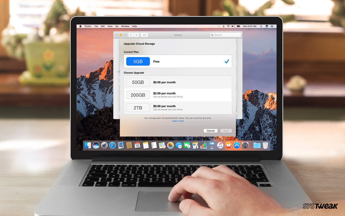 add more storage Mac