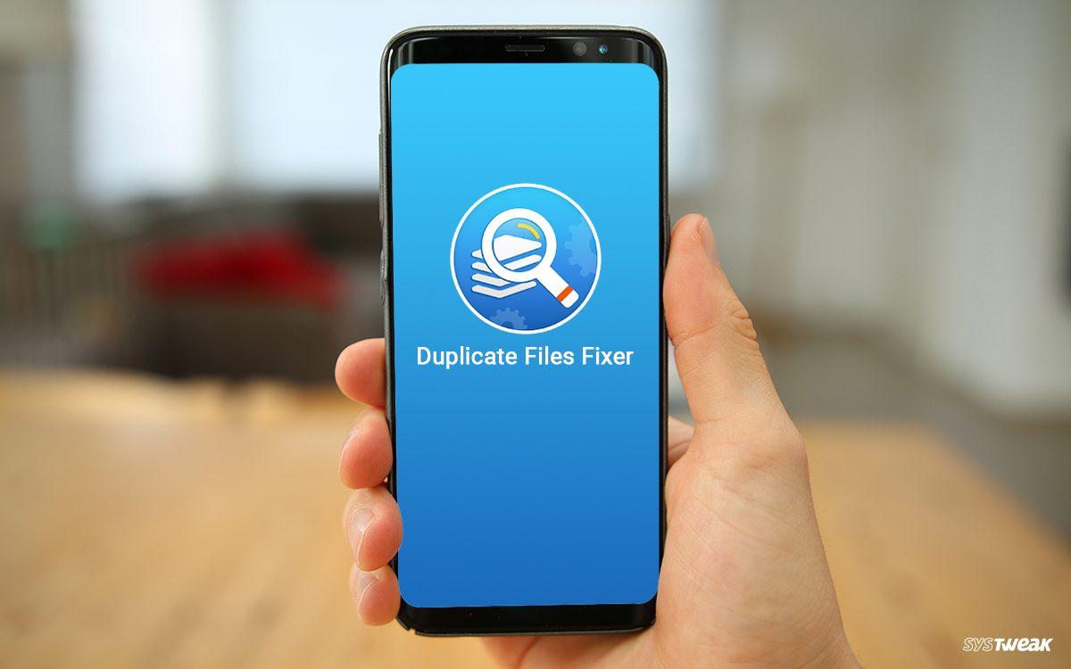 Duplicate files fixer update