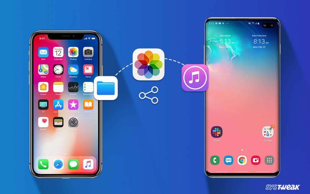 How To Share Files Between iPhone and Android