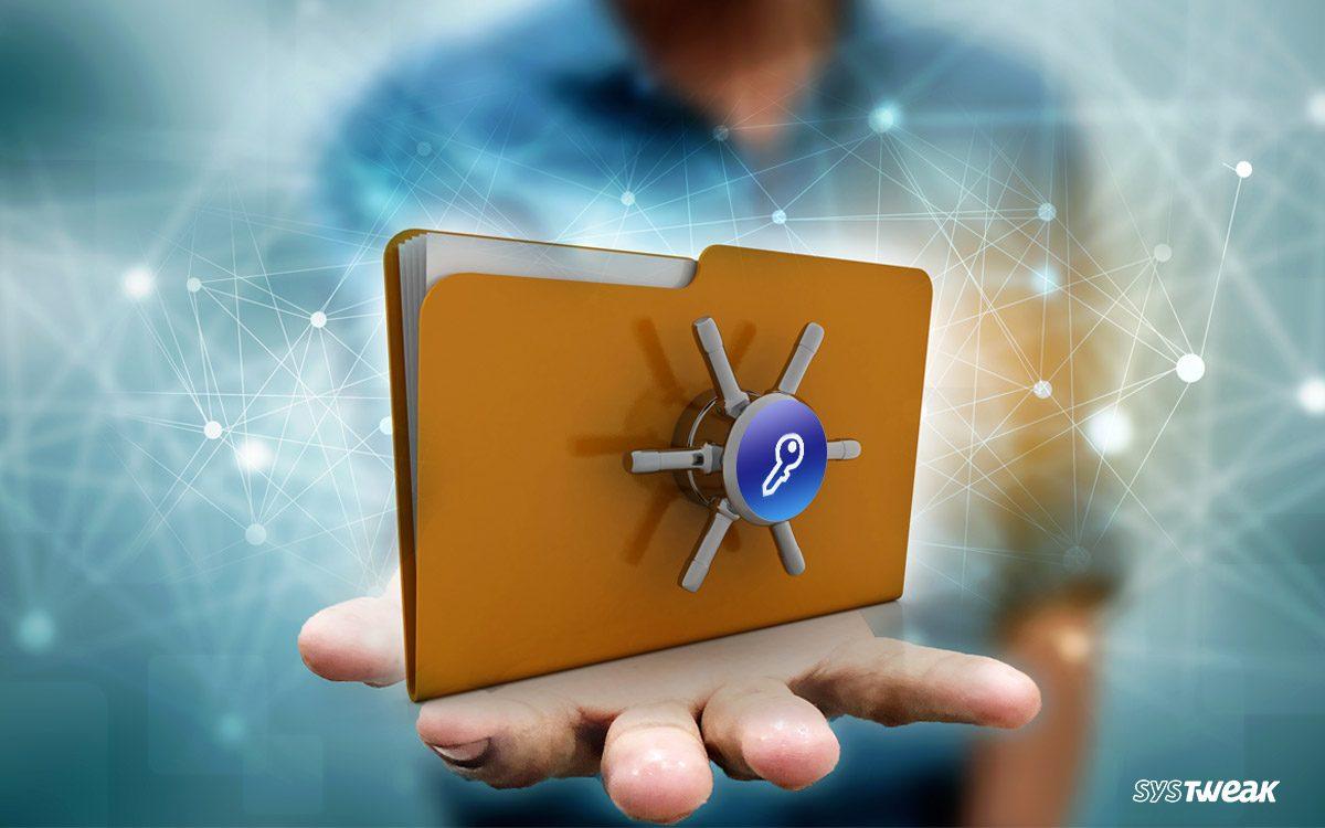 best folder and file lock software