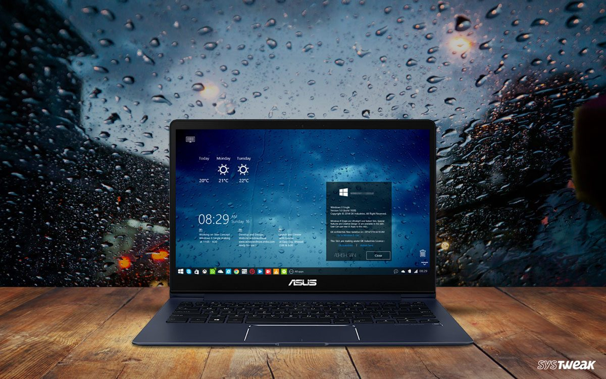 Best Rainmeter Skins for Windows-10