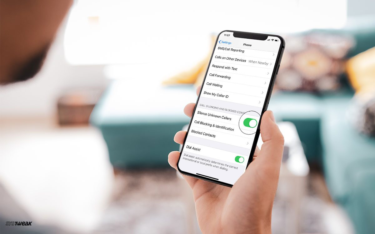 Enable Silence Unknown Callers on iOS 13