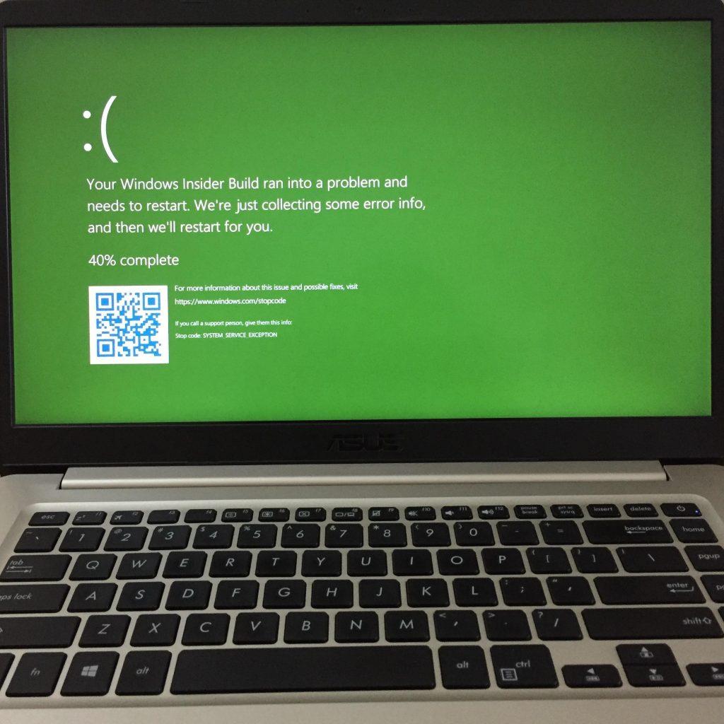Fix Windows 10 Green Screen of Death Error