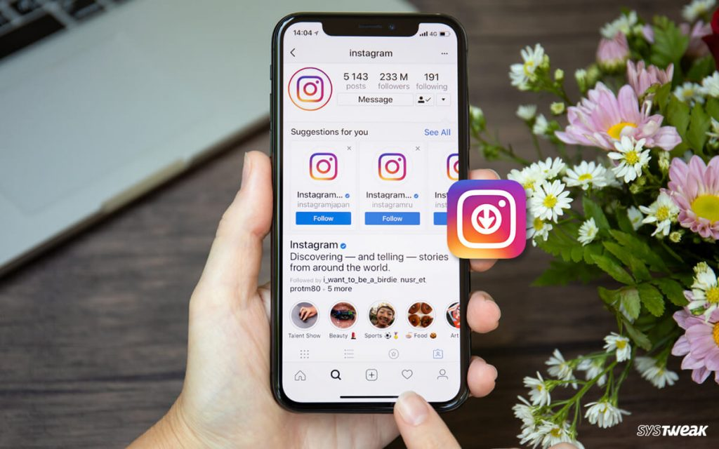 Download Instagram Stories Using Story Savers For Instagram