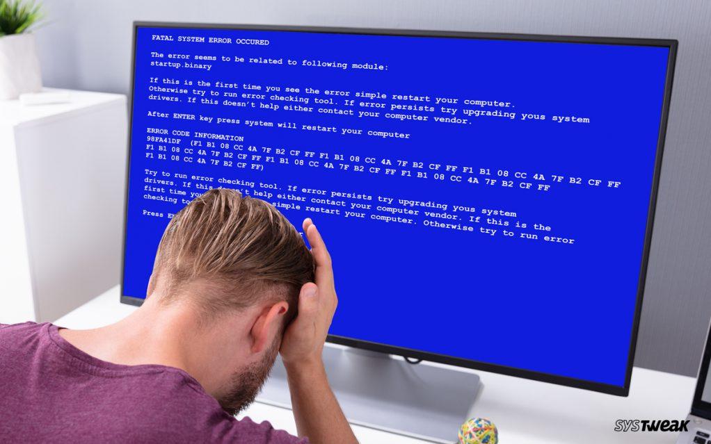 Fix Blue Screen of Death (BSoD) Errors in Windows 8