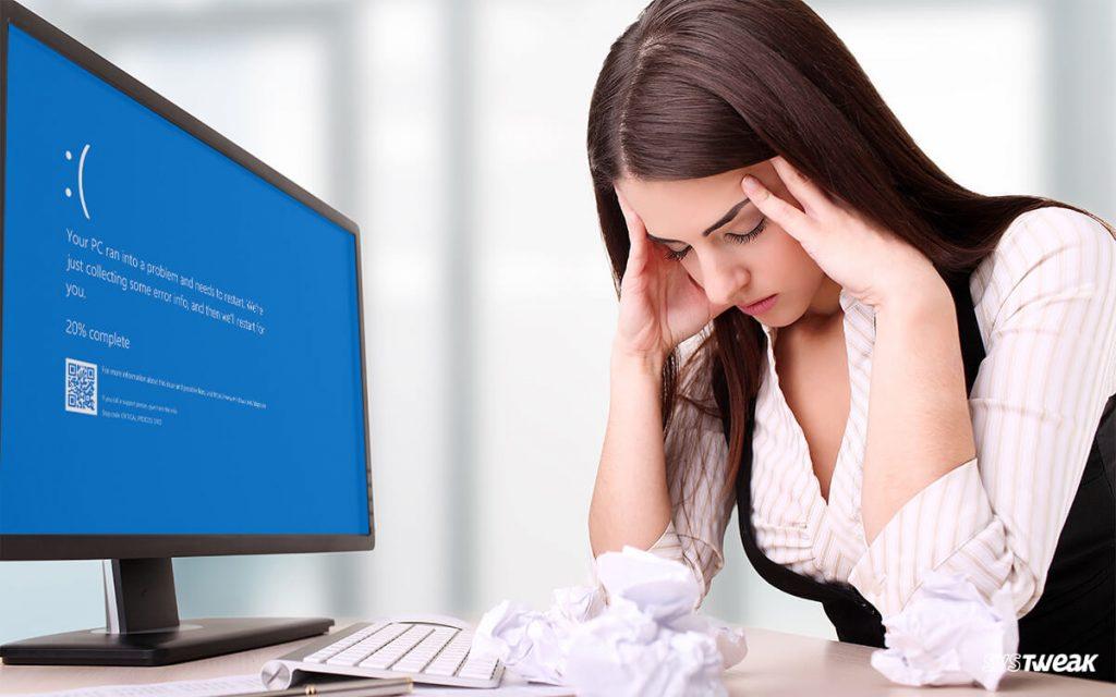 Fixed: Bad System Config Info Windows 10 Error!