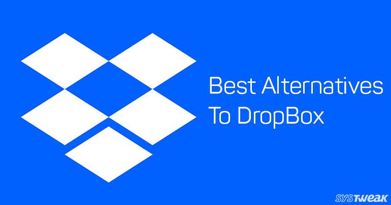 5 Best Alternatives To DropBox