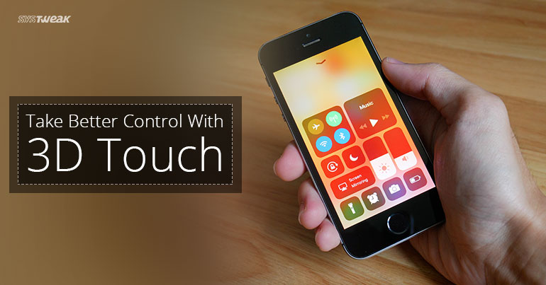 A Few 3D Touch Gestures To Try On iOS 11's Control Center