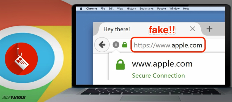 A New Trick Which Lets Hackers Hide Their Phishing URL's