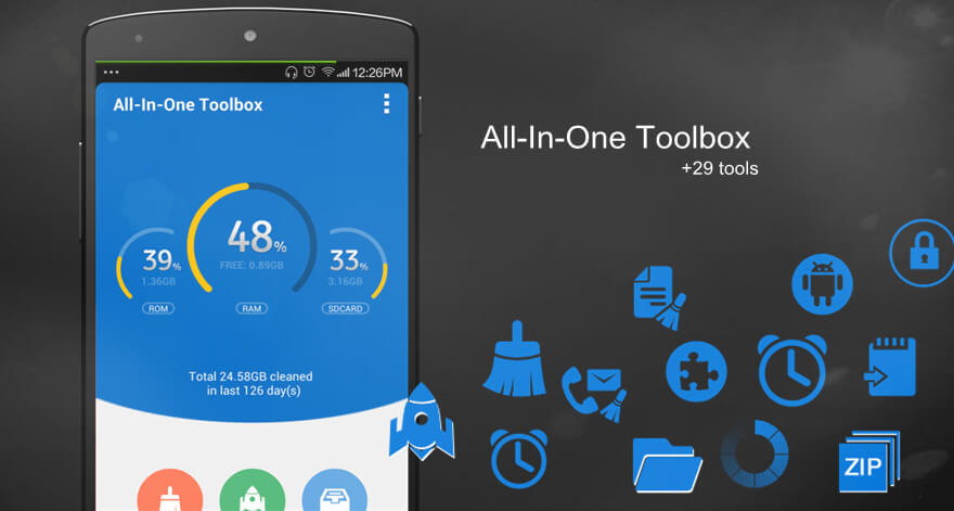 All-In-One-Toolbox - Duplicate remover Cleaner App