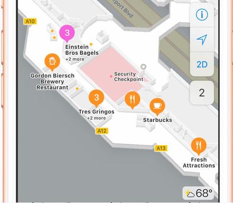 Apple adds Indoor Maps