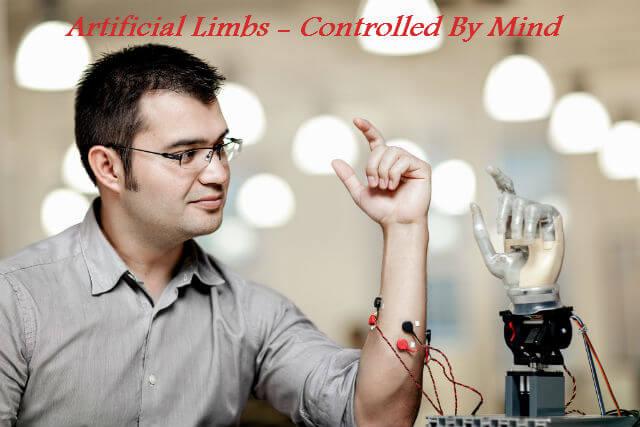 Artificial Limbs Powered ByMind