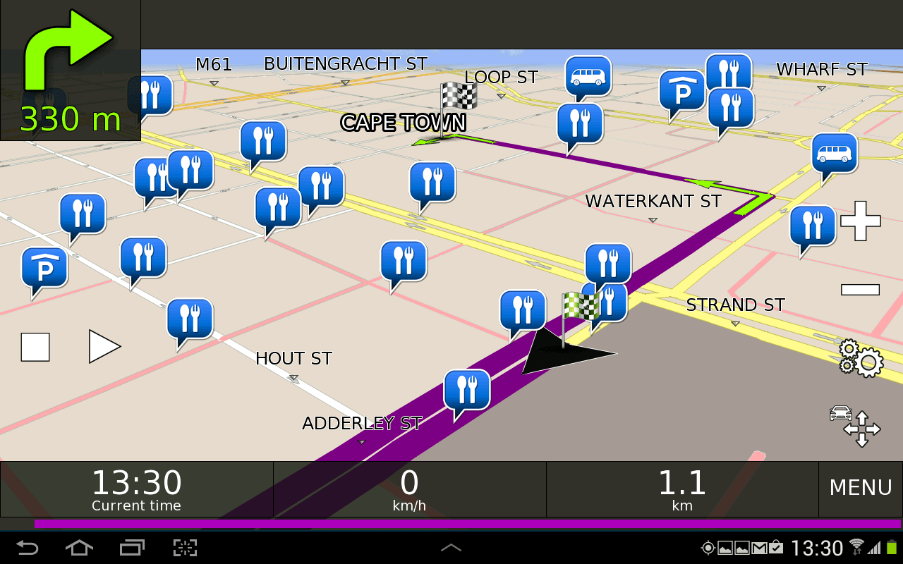 BE-ON-ROAD - GPS Navigation