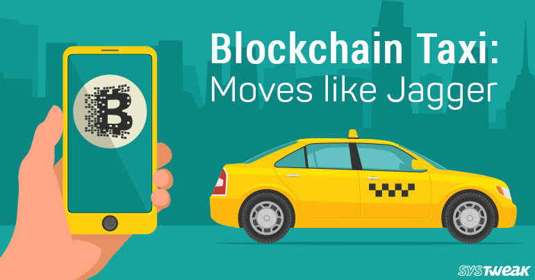 Blockchain Taxi: Decentralized Cab Service