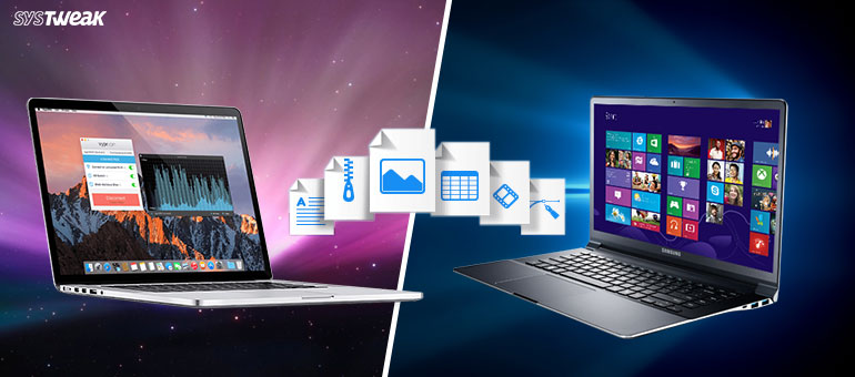 file transfer between mac and pc