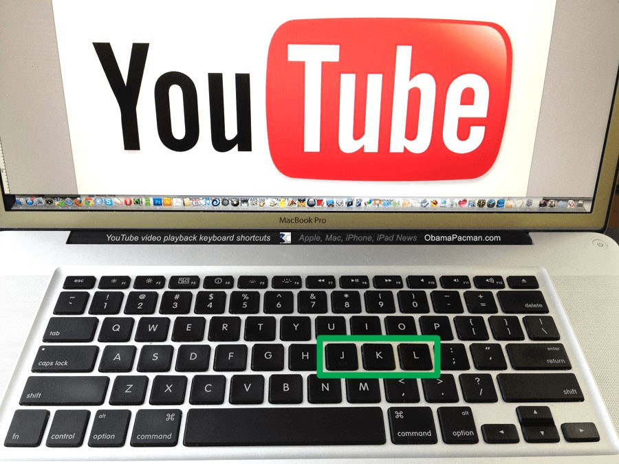 Control YouTube with the keyboard