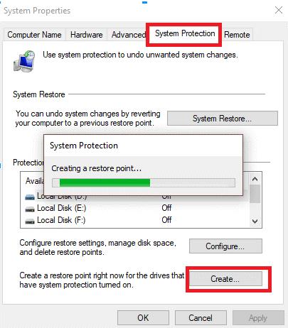 Create-A-Restore-Point-In-Windows-7