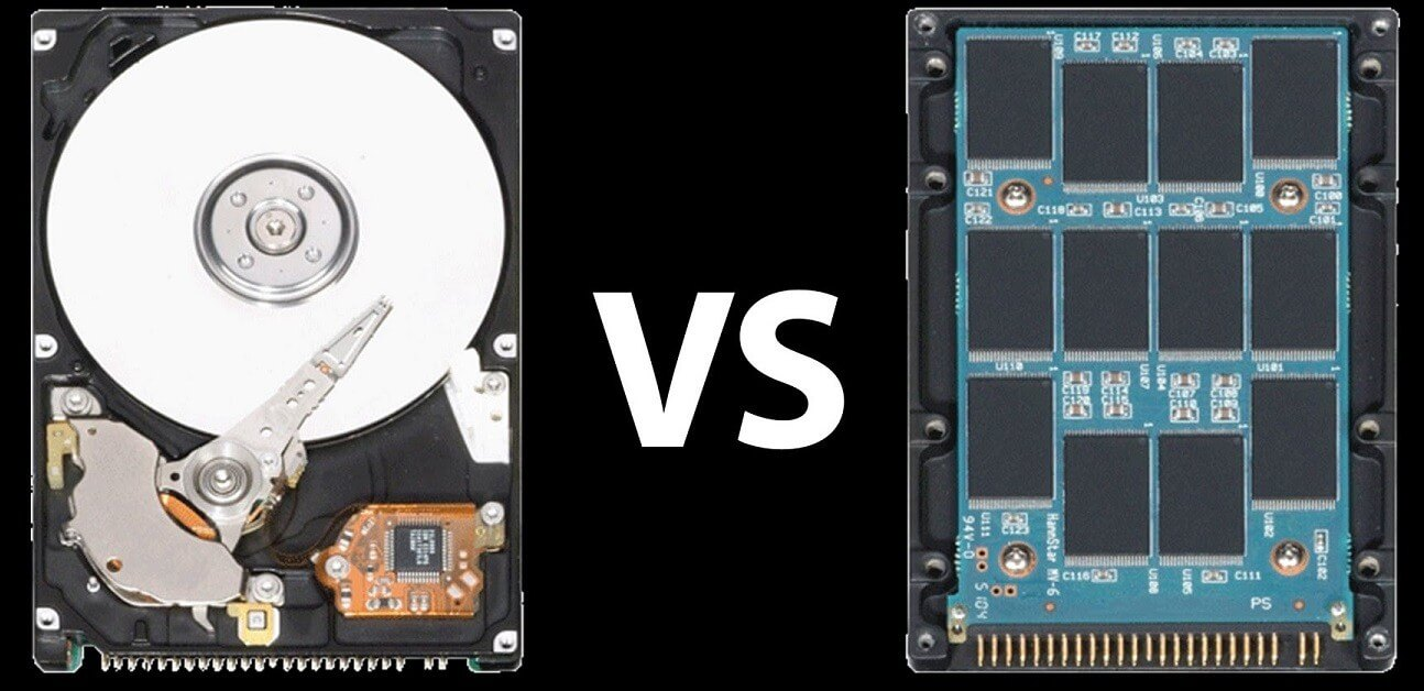 Difference between HDD and SDD