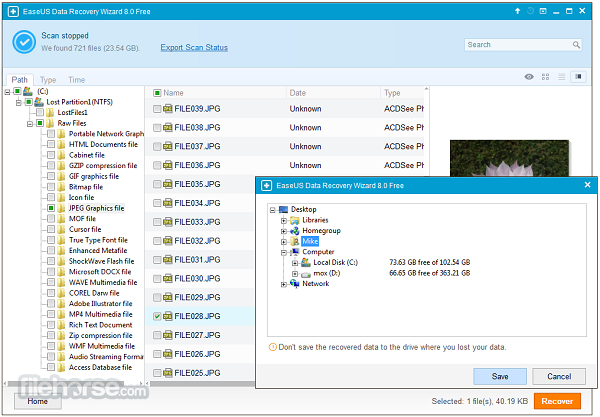 easeus data recovery pro 7.0