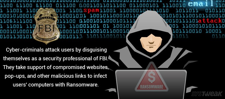 FBI Warned Users Against Ransomware Virus Attacks