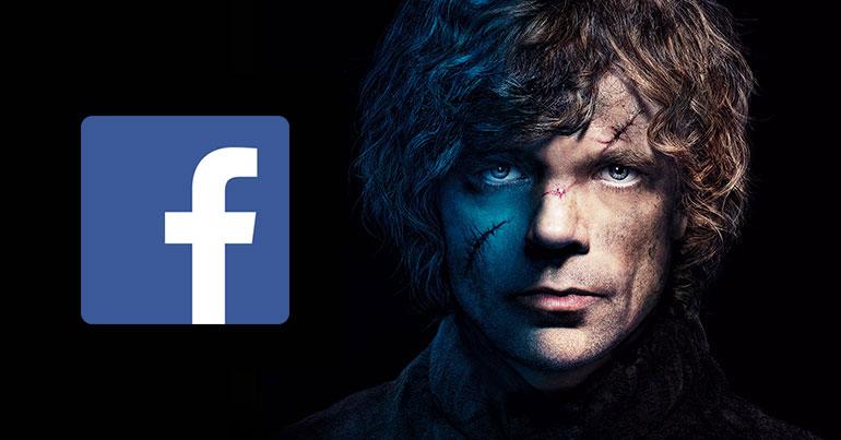 Facebook – Tyrion Lannister