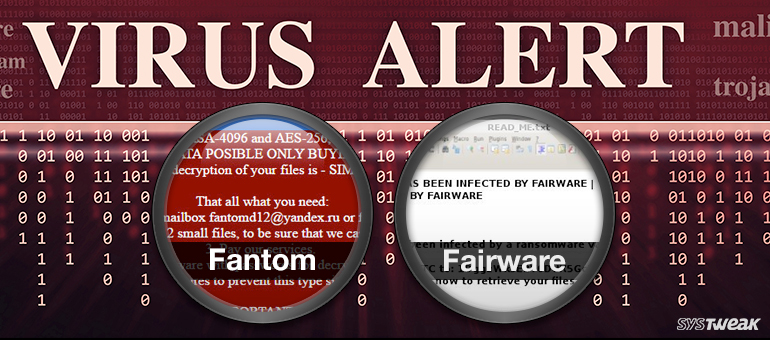 Recent Ransomware Threats: Fantom and FairWare Ransomware