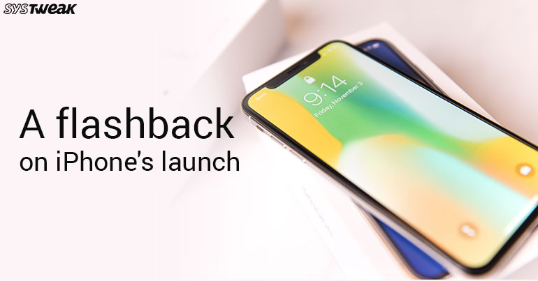 First iPhone Launch: A Flashback