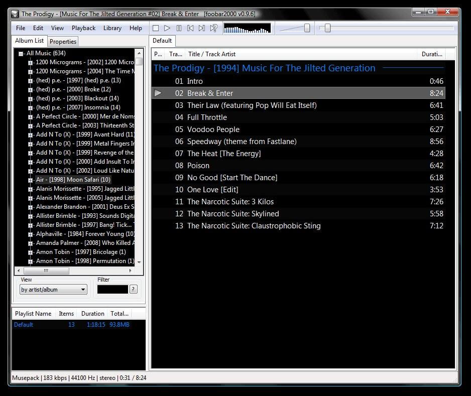 Foobar2000 - alternate to iTunes