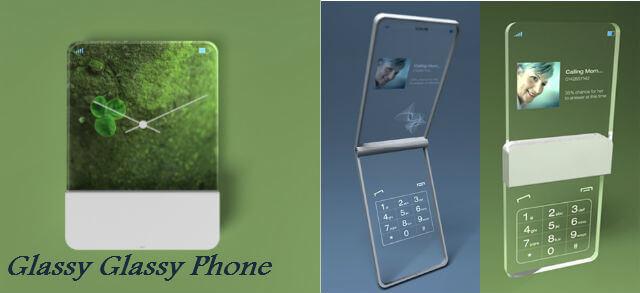 Glassy Glassy Phone