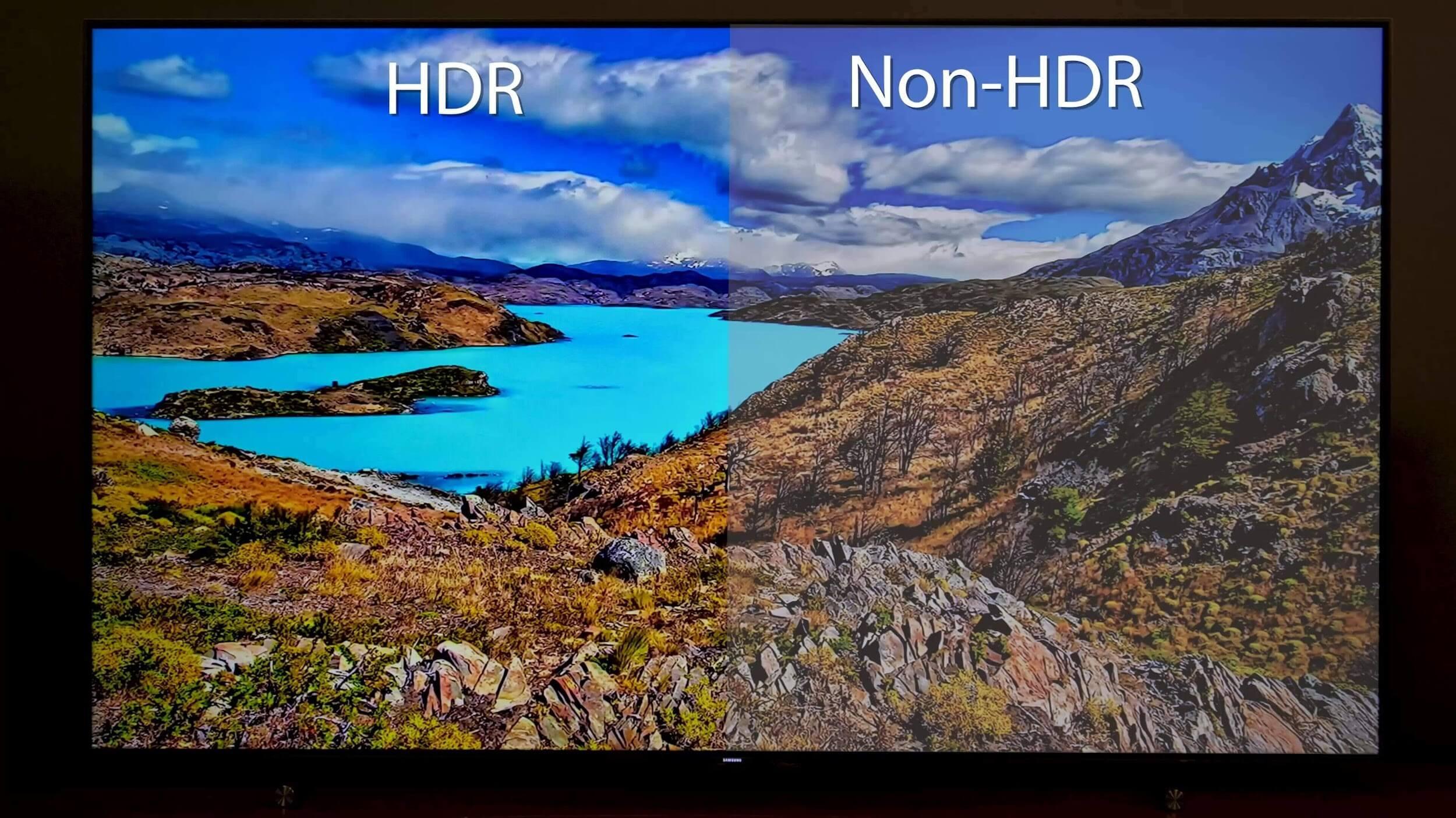HDR vs Non HDR
