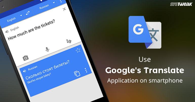 English To Italian Translator Google: How To Use Google Translator App On Smartphone