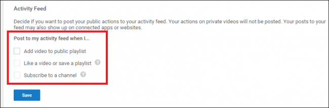 How to Edit YouTube's Privacy Settings