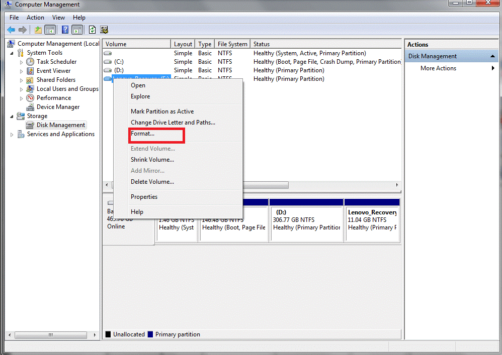 How to Erase and Format an External Hard Drives on Windows