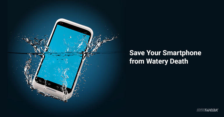 How to Repair Wet Smartphone – Fix Water Damaged Phone