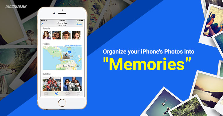 """How to Turn Your iPhone Pictures into Beautiful """"Memories"""""""