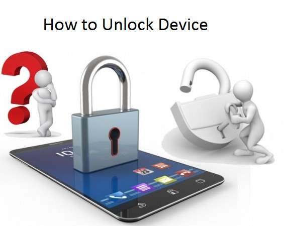 How to unlock device