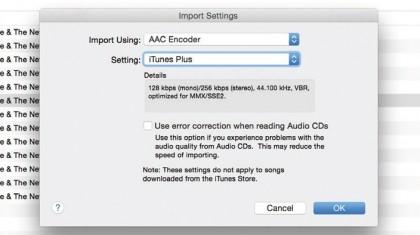 Import a CD