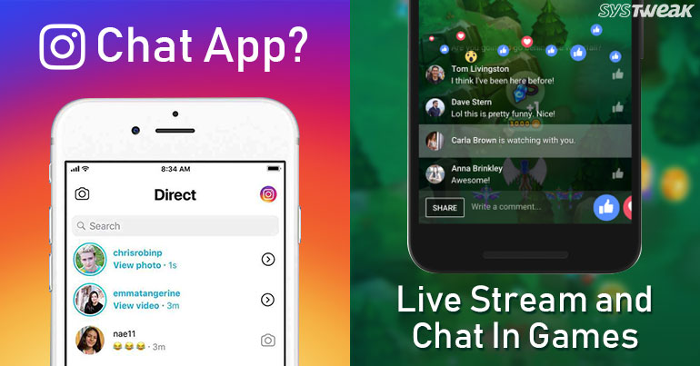 Newsletter: Instagram Working on Chat App & Facebook Adds New Features in Messenger App