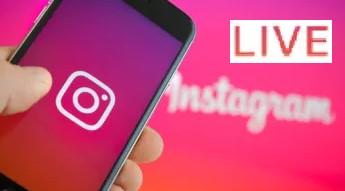 Instagram live feature