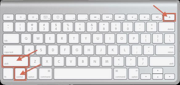 how to lock keyboard on mac