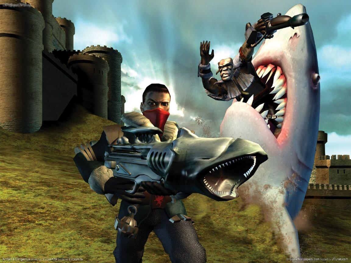 Land Shark Gun