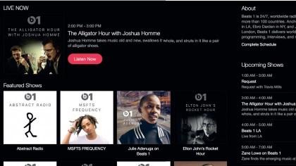 Listen to Beats 1 radio station