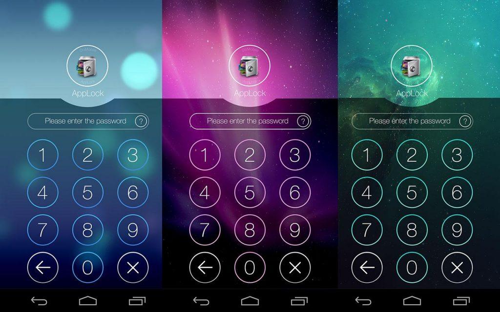 Lock individual apps & media