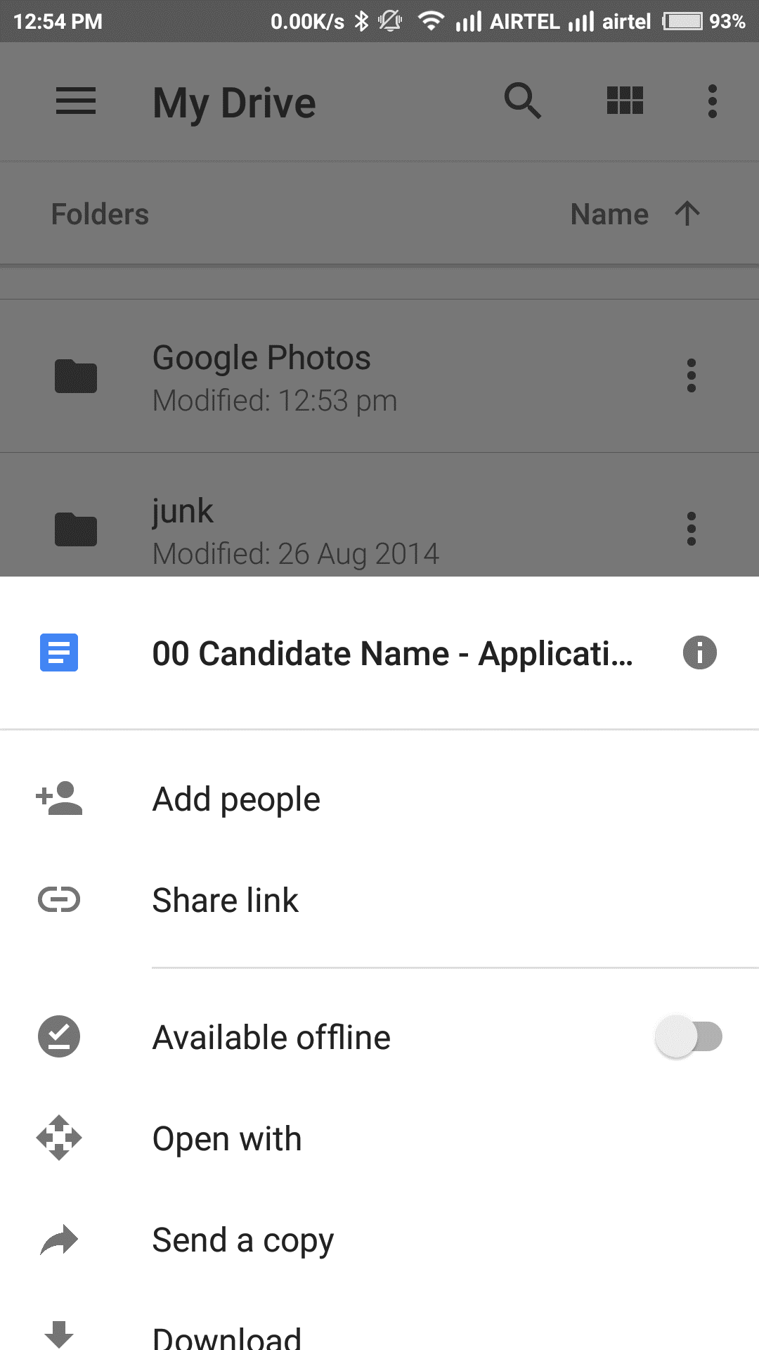 Make Files Public