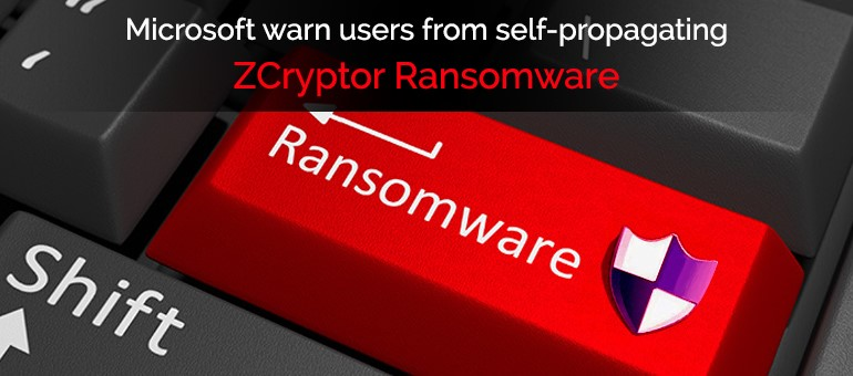 ZCryptor Ransomware .lnk – Microsoft warns users from self-propagating