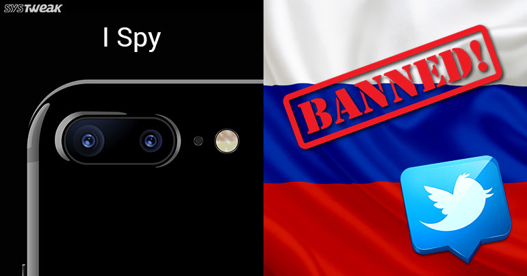 NEWSLETTER: No Twitter for Russia Today and Sputnik & iPhone Camera Spies On You
